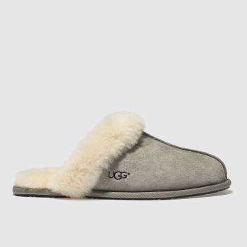 Ugg Grey Scuffette Ii Womens Slippers#