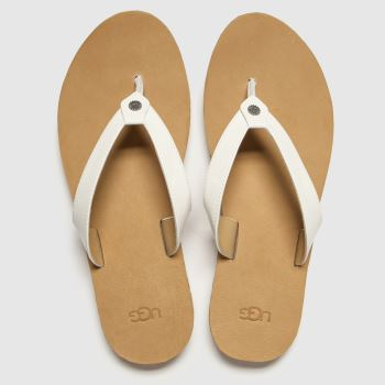 UGG White Tawney Womens Sandals