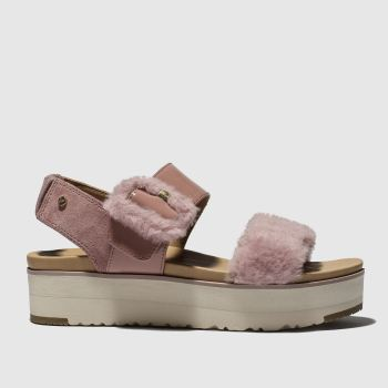Ugg Pink Le Fluff c2namevalue::Womens Sandals