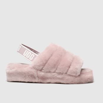 Ugg Pale Pink Fluff Yeah Slide Womens Slippers from Schuh
