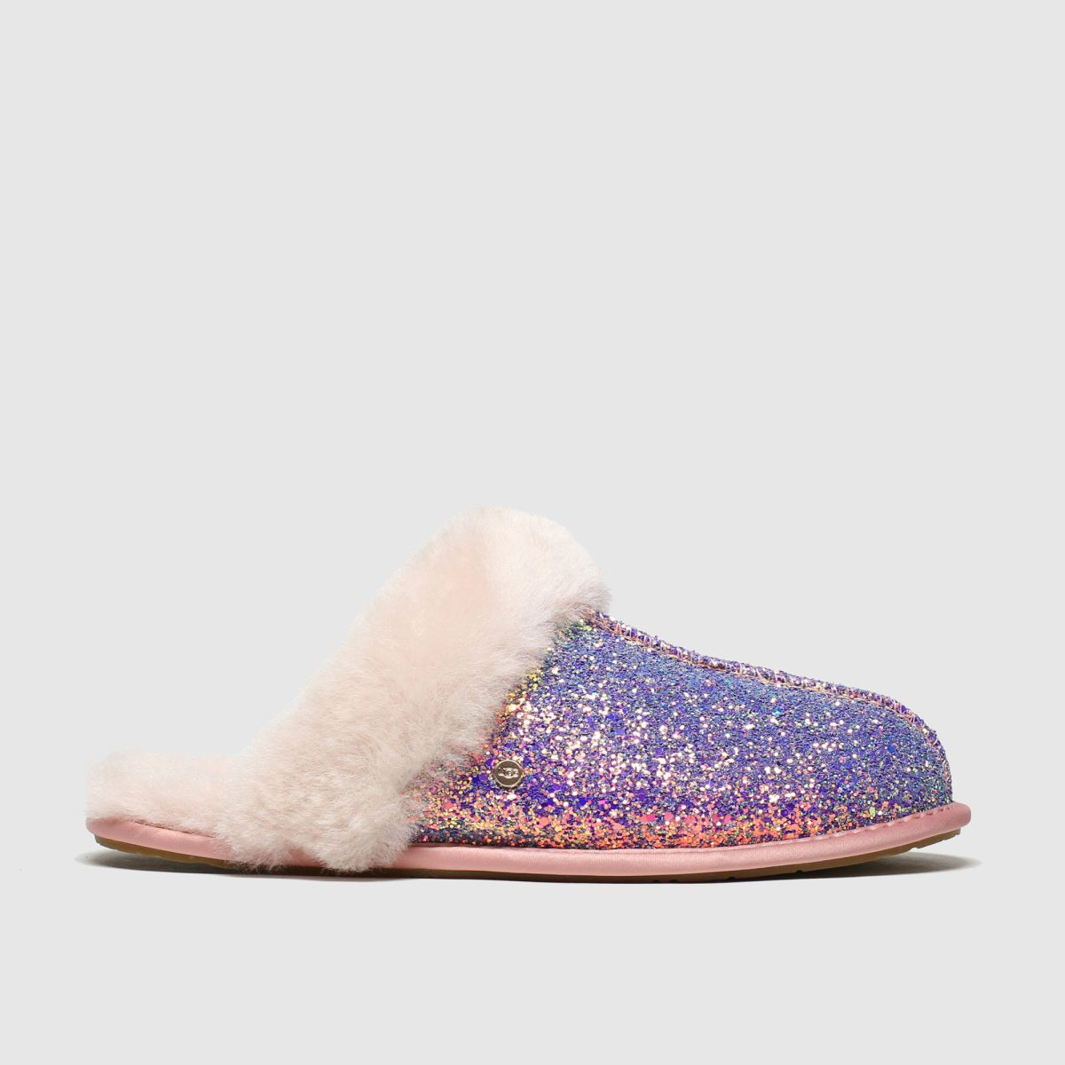 Ugg Pink Scuffette Ii Cosmos Slippers
