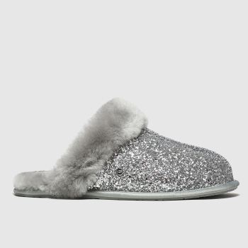 Ugg Silver Scuffette Ii Cosmos Womens Slippers