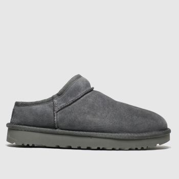 Ugg Grey Classic Slipper Womens Slippers