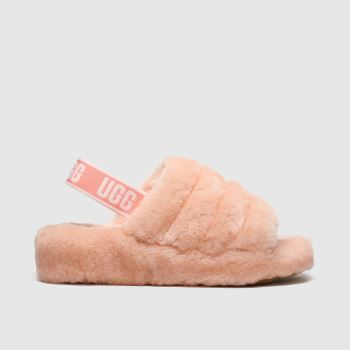 Ugg Peach Fluff Yeah Slide Womens Slippers
