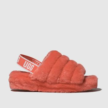 Ugg Pink Fluff Yeah Slide Womens Slippers