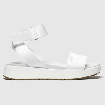 Ugg White Lennox c2namevalue::Womens Sandals