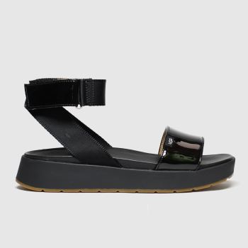 Ugg Black Lennox Womens Sandals