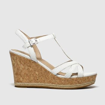 UGG White Melissa Womens Sandals