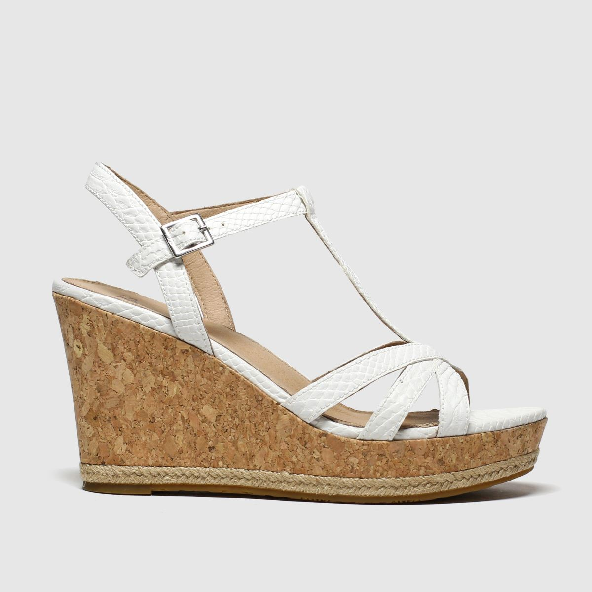 Ugg White Melissa Sandals