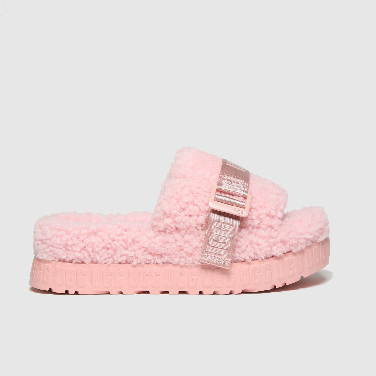 Ugg Pale Pink Fluffita Slippers