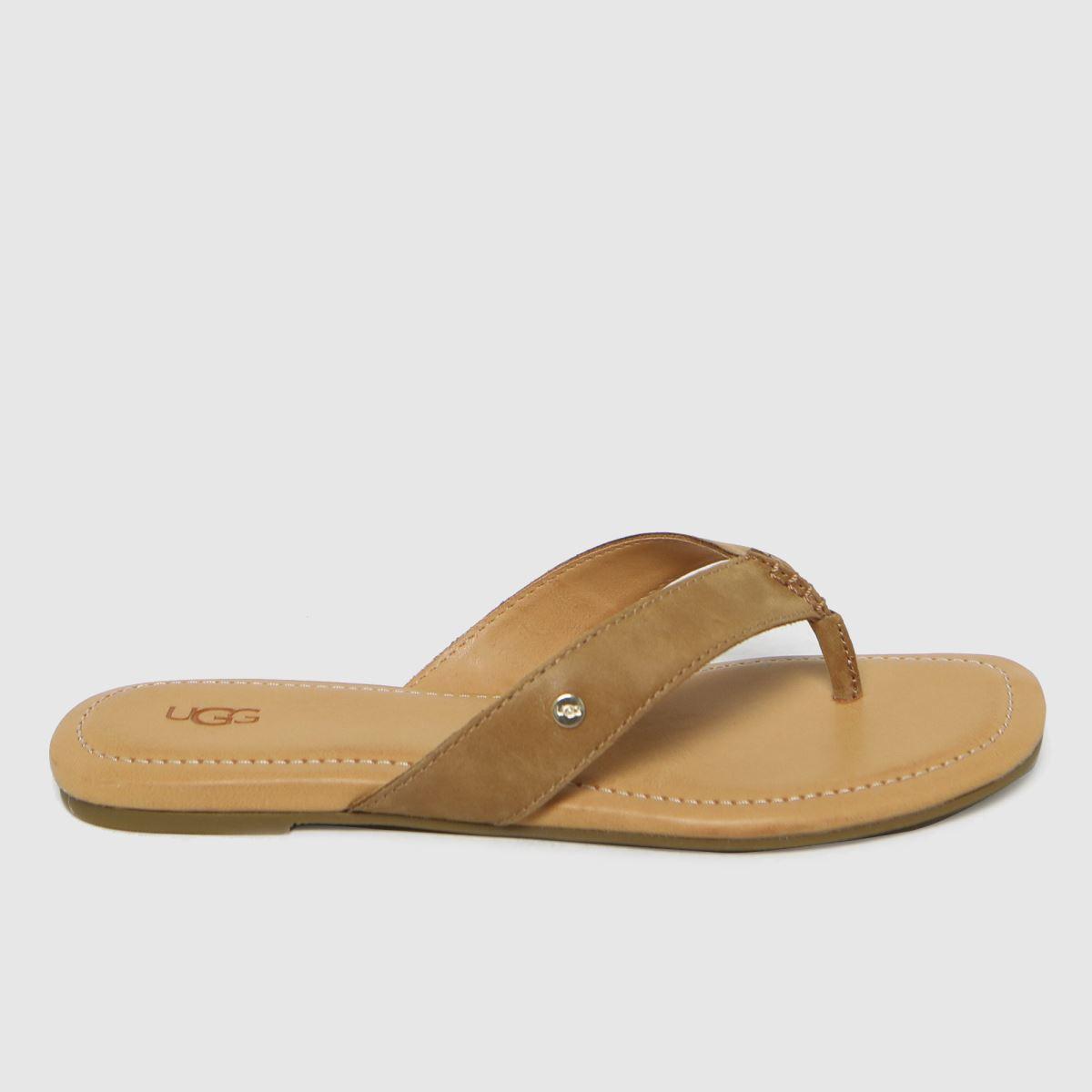 UGG Tan Toulumne Sandals