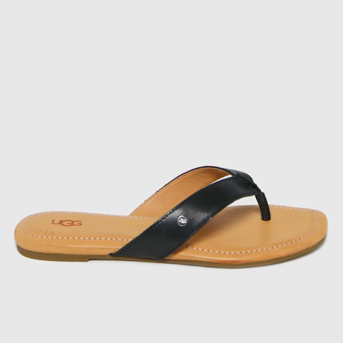 UGG Black Toulumne Sandals