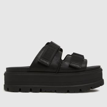 UGG Black Clem Sandal Womens Sandals