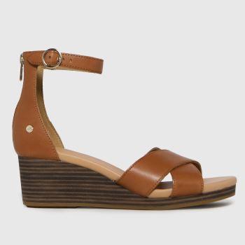 UGG Tan Eugenia Womens Sandals
