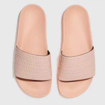 c5cd3e70c2526c womens pale pink adidas adilette slide sandals