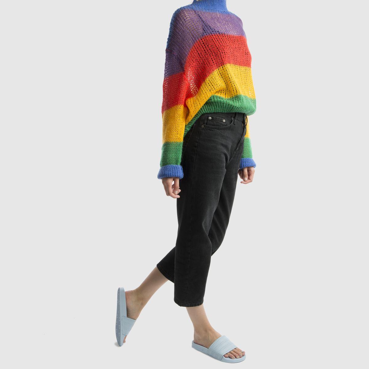 Damen Hellblau adidas Adilette Slide Sandalen | schuh Gute Qualität beliebte Schuhe