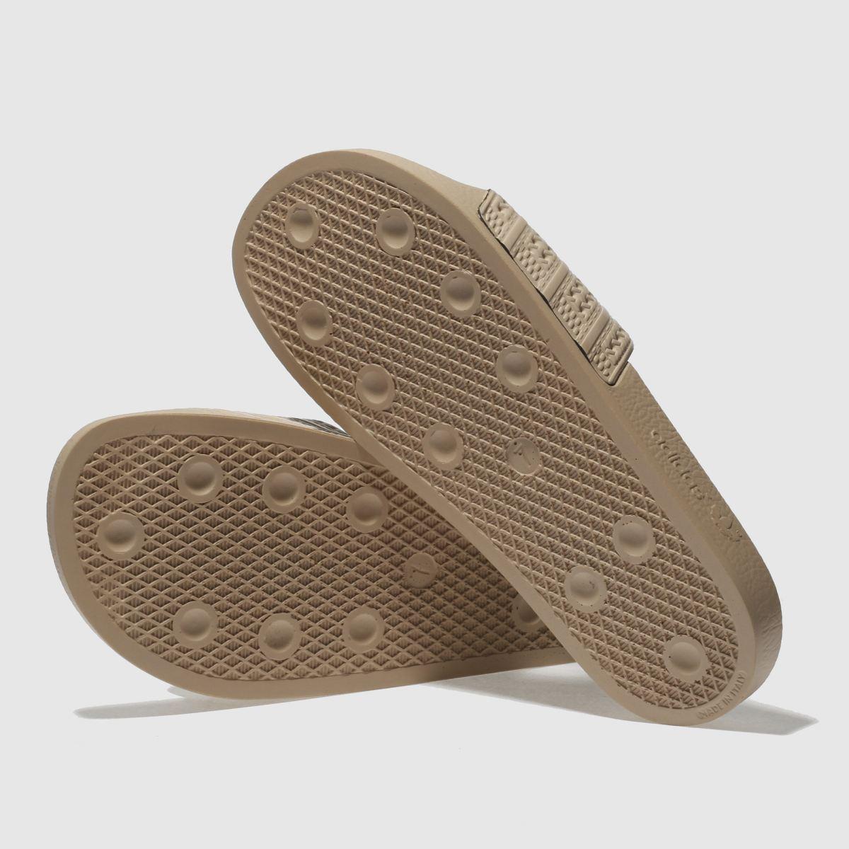 Damen Sandalen Naturfarben adidas Adilette Slide Sandalen Damen | schuh Gute Qualität beliebte Schuhe d429c6