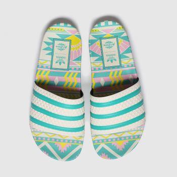 Adidas Multi Adilette Womens Sandals