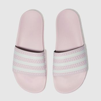 Adidas Pale Pink Adilette Womens Sandals