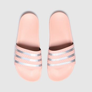 adidas Pink Adilette Womens Sandals#