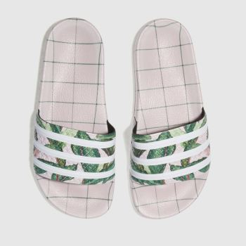 Adidas Pale Pink Adilette Farm Womens Sandals