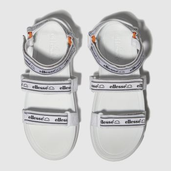 Ellesse White & Black Denso Womens Sandals