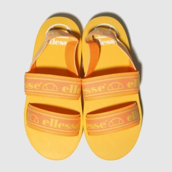 Ellesse Orange Giglio Womens Sandals