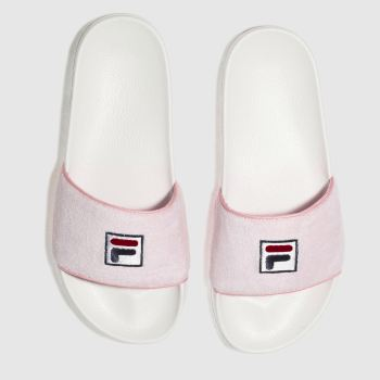 Fila Pink Drifter Terry Womens Sandals