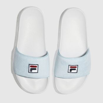Fila Blue Drifter Terry Womens Sandals