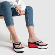 Tommy Hilfiger tj colorblock flatform beach 1