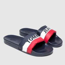 Tommy Hilfiger Tj Padded Nylon Pool Slide 1