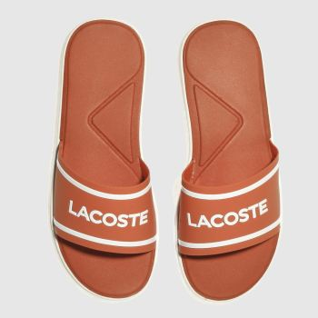 Lacoste Orange L.30 Slide Womens Sandals