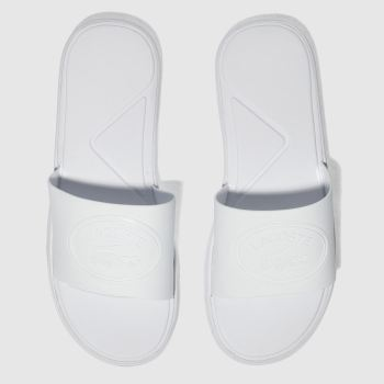 Lacoste White L.30 Slide 318 Womens Sandals