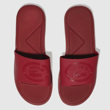 Lacoste Red L.30 Slide 318 Womens Sandals