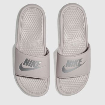 new arrival ceba2 80b40 Nike Mauve Benassi Slide Womens Sandals