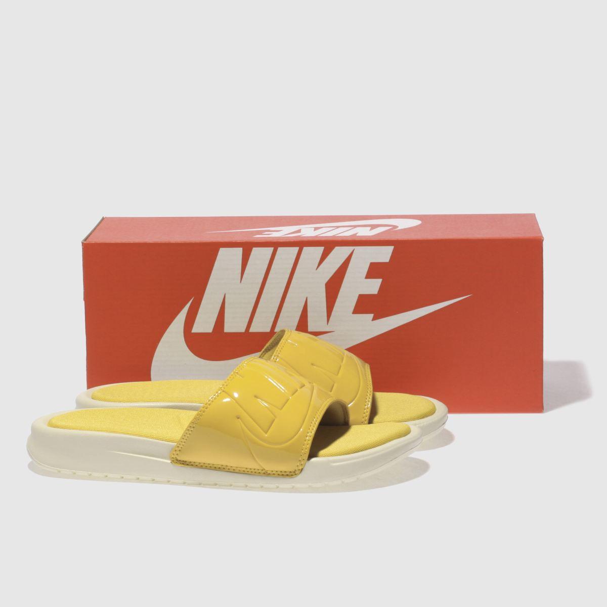Damen Gelb nike Benassi Ultra schuh Lux Slide Sandalen | schuh Ultra Gute Qualität beliebte Schuhe 3f050a