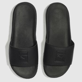 Puma Black Platform Slide Womens Sandals