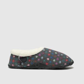 Homeys Grey Lily Womens Slippers