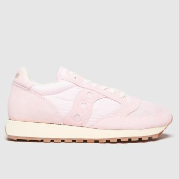 Saucony Pale Pink Jazz Vintage Womens Trainers