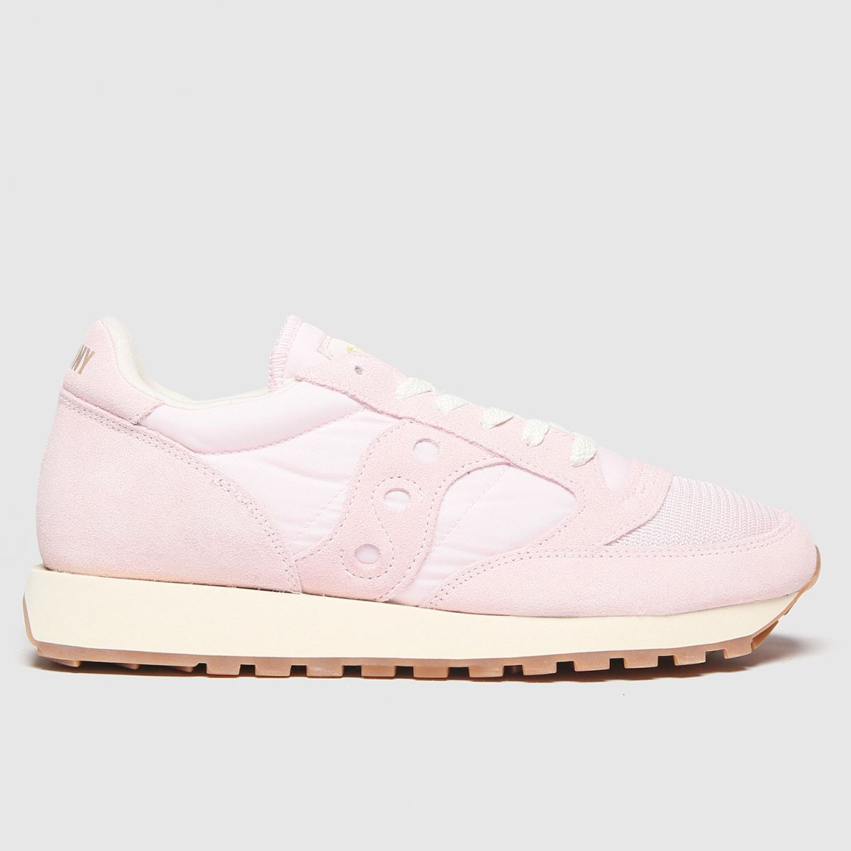 Saucony Saucony Pale Pink Jazz Vintage Trainers