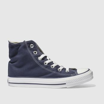Converse Navy All Star Hi Womens Trainers