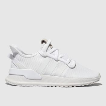 Adidas White U_PATH Trainers