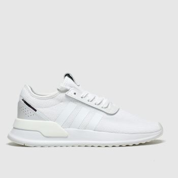 Adidas White & Black U_path Trainers