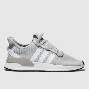 Adidas Light Grey U_PATH Trainers