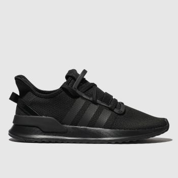 Adidas Black U_path Trainers