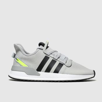 Adidas Grey & Black U_path Trainers