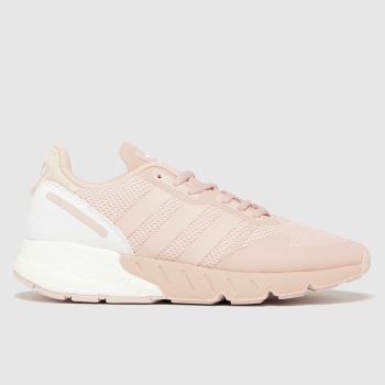 adidas Pale Pink Zx 1k Boost Womens Trainers