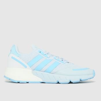 adidas Light Grey Zx 1k Boost Trainers