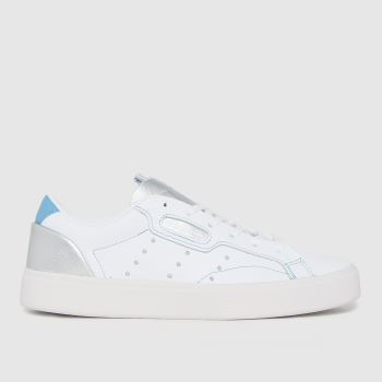 adidas White Sleek W Trainers