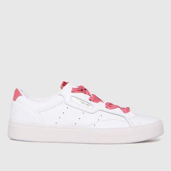 adidas White Sleek W Womens Trainers